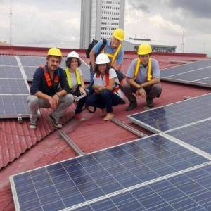Impianto fotovoltaico Green Residence Hotel, Costa Rica.