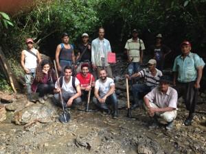 Idroelettrica nella comunità El Diptamo, Honduras.