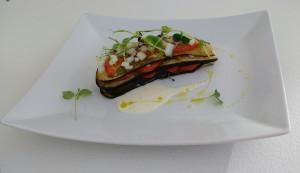 Uno dei piatti creati nella cucina Electrolux