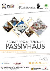 Locandina_5^Conferenza Nazionale Passivhaus