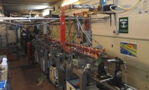 Un'immagine dell'acceleratore principale